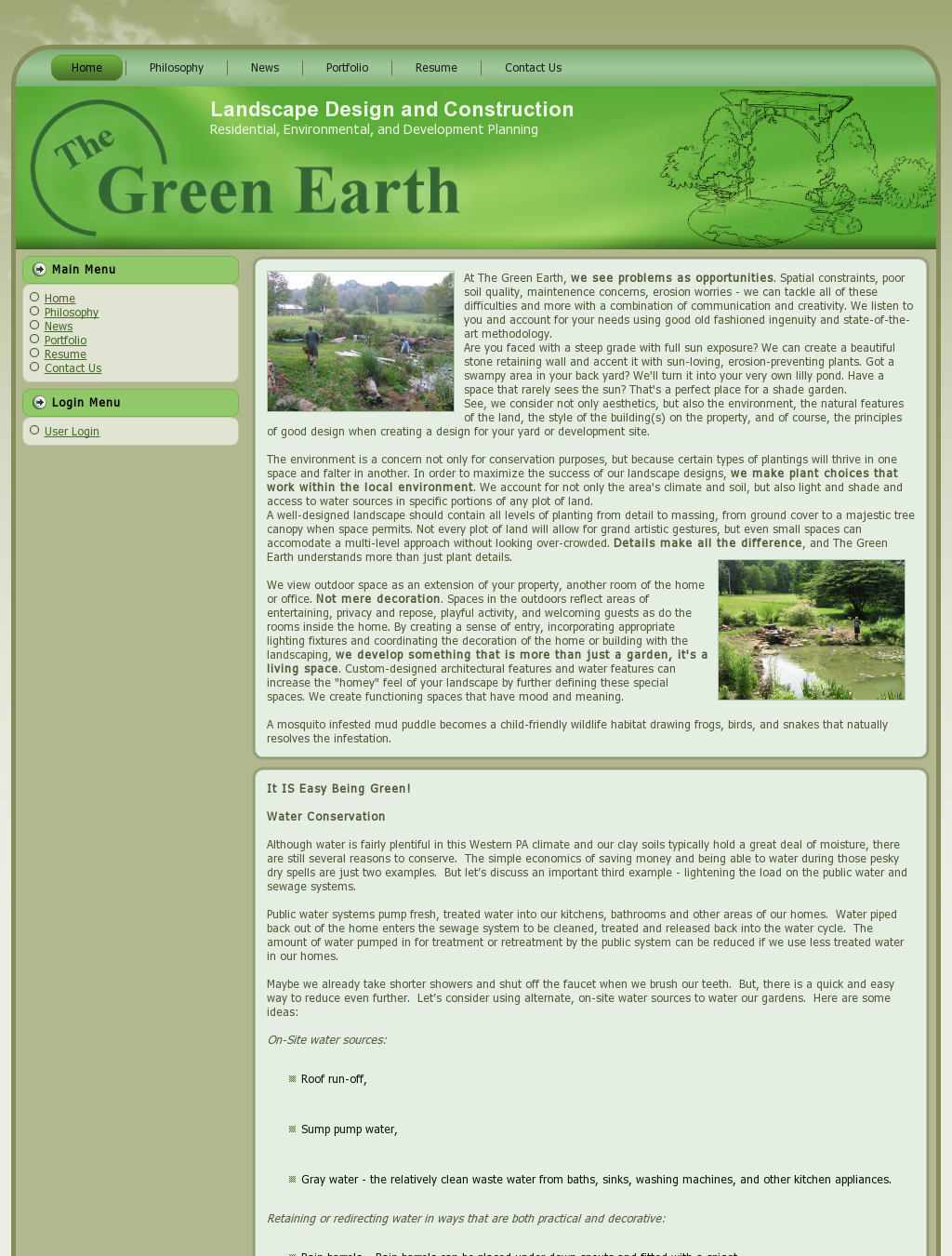 Green Earth Site